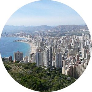 City Benidorm tour