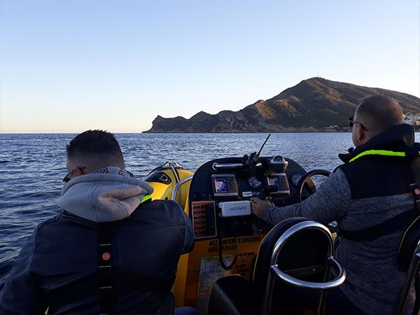 powerboat tour altea