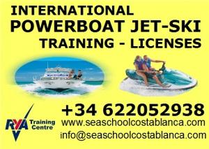 Sea school Costa Blanca